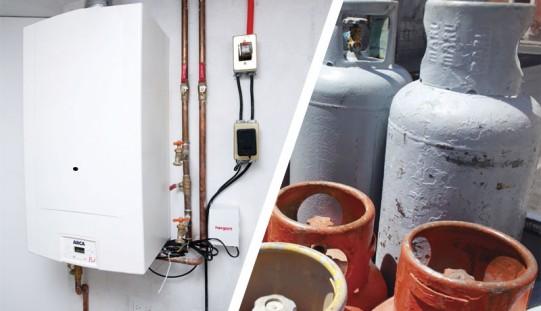 ¿Gas natural o gas LP?