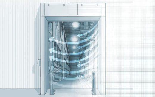 Puertas de aire. Funcionamiento, instalación y beneficios