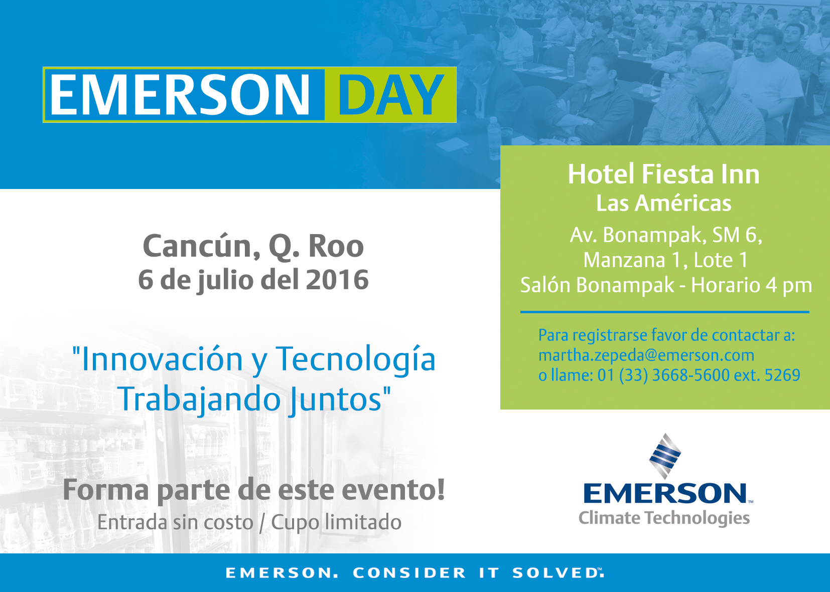 Emerson Day Cancún