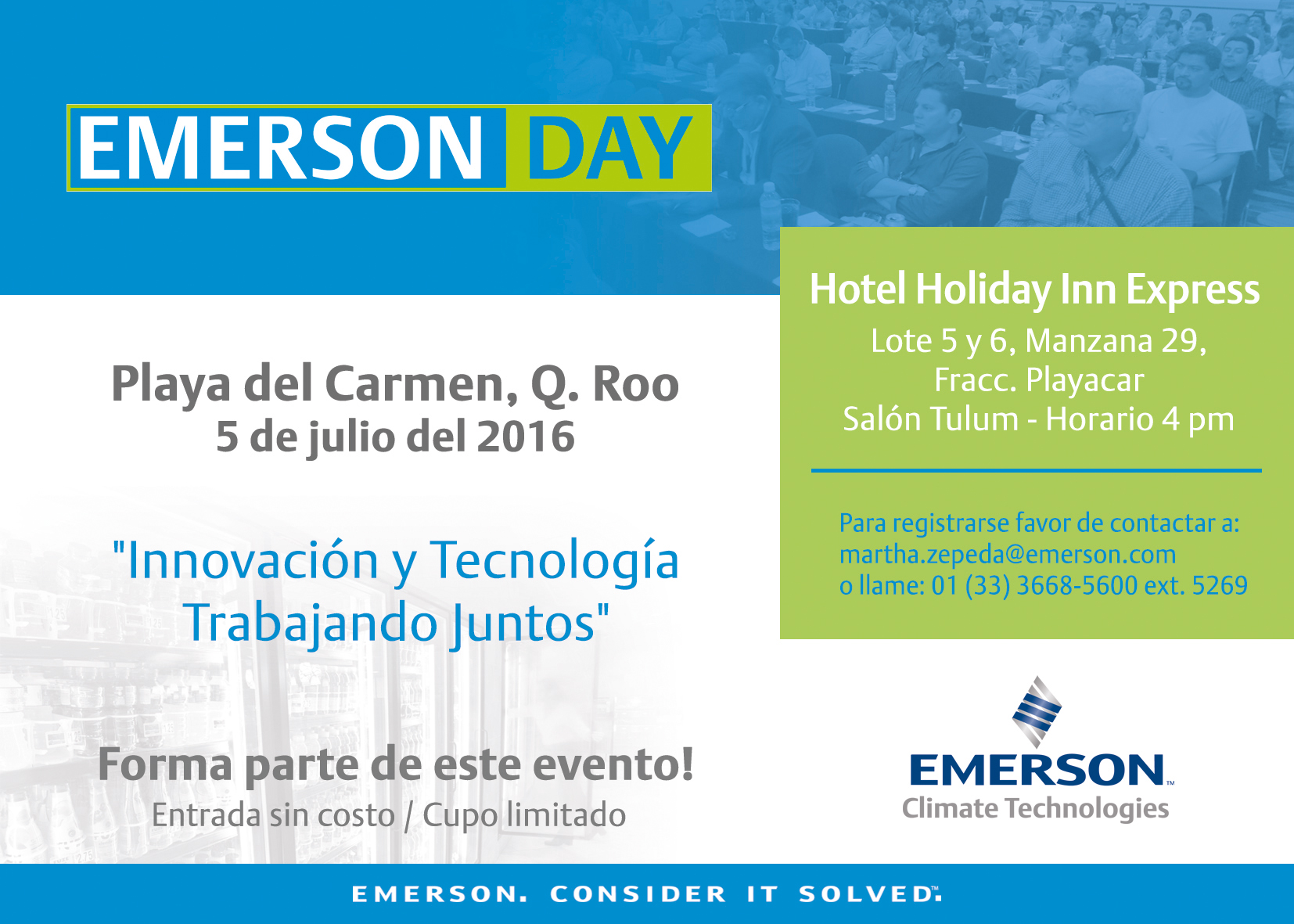 Emerson Day Playa del Carmen